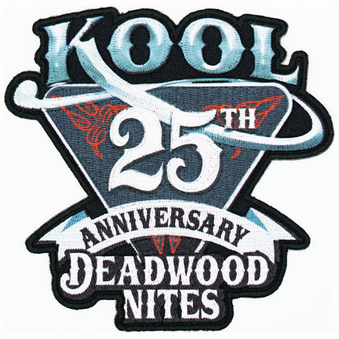 Kool Deadwood Nites 25th Pocket Patch