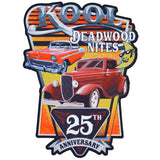 25th Kool Deadwood Nites Official Back Patch