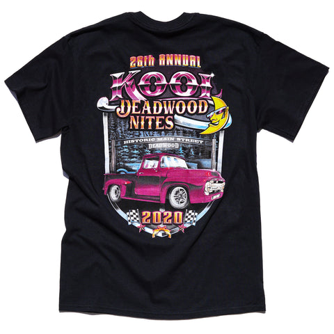 Kool Deadwood Nites 2020 T-Shirt Black