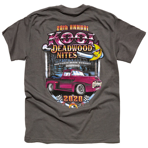 Kool Deadwood Nites 2020 T-Shirt Taupe