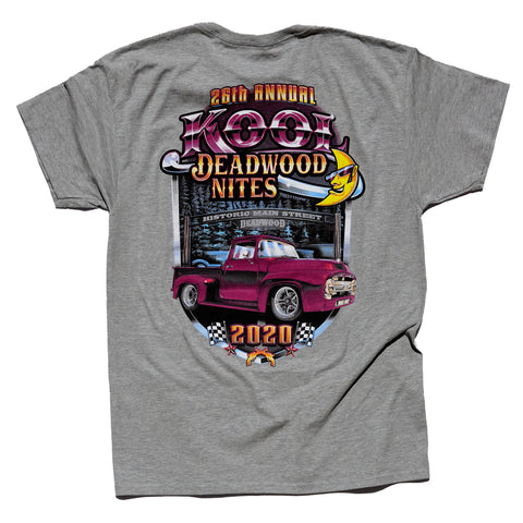 Kool Deadwood Nites 2020 T-Shirt Grey