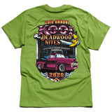 Kool Deadwood Nites 2020 T-Shirt Lime Green