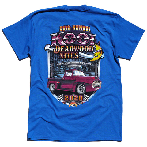 Kool Deadwood Nites 2020 T-Shirt Blue