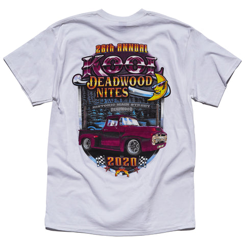 Kool Deadwood Nites 2020 T-Shirt White