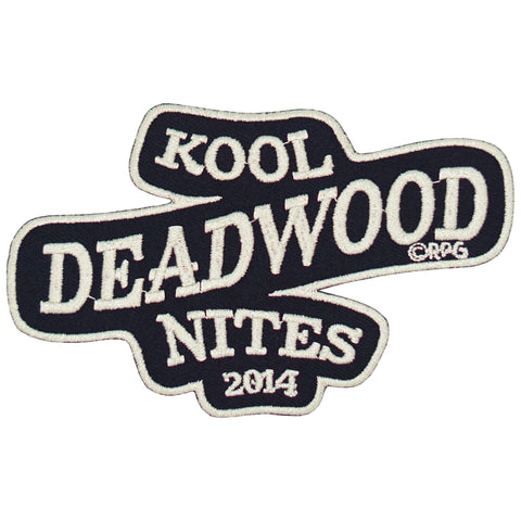 Kool Deadwood Nites 2014 Iron On Patch