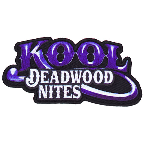 Kool Deadwood Nites Purple-Blue Logo Patch