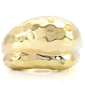 1W036 - Gold Brass Ring with No Stone