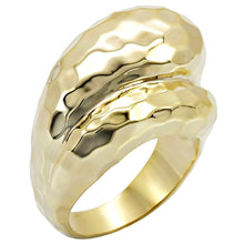 Load image into Gallery viewer, 1W036 - Gold Brass Ring with No Stone