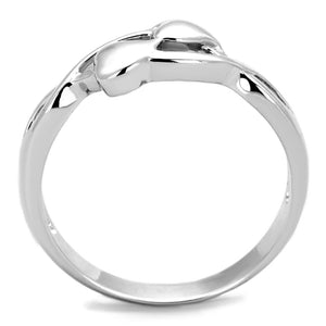 3W859 - Rhodium Brass Ring with No Stone