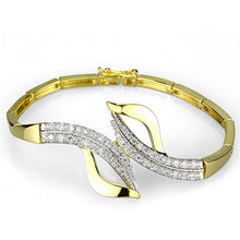 Load image into Gallery viewer, 3W942 - Gold+Rhodium Brass Jewelry Sets with AAA Grade CZ  in Clear