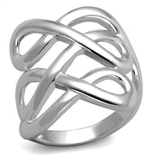 Load image into Gallery viewer, 3W1076 - Rhodium Brass Ring with No Stone