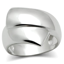 Load image into Gallery viewer, 3W167 - Rhodium Brass Ring with No Stone