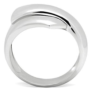 3W167 - Rhodium Brass Ring with No Stone