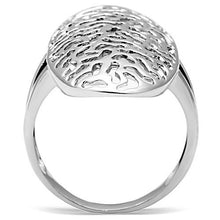 Load image into Gallery viewer, 3W169 - Rhodium Brass Ring with No Stone
