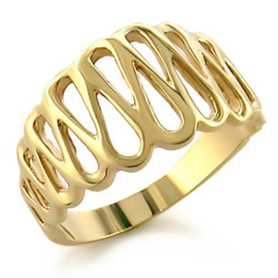54402 - Gold Brass Ring with No Stone