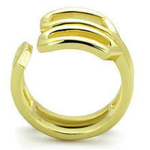 Load image into Gallery viewer, TK1884 IP Gold(Ion Plating) Stainless Steel Ring with No Stone in No Stone