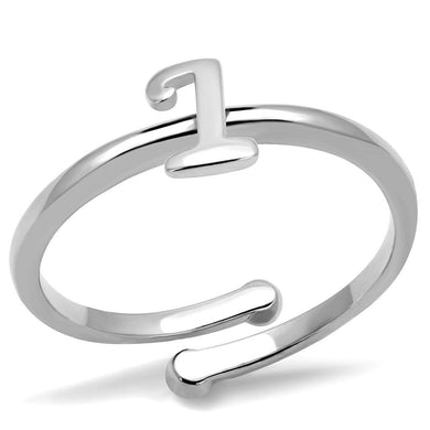LO4019 - Rhodium Brass Ring with No Stone