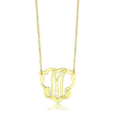 LO4688 Flash Gold Brass Necklace with No Stone in No Stone