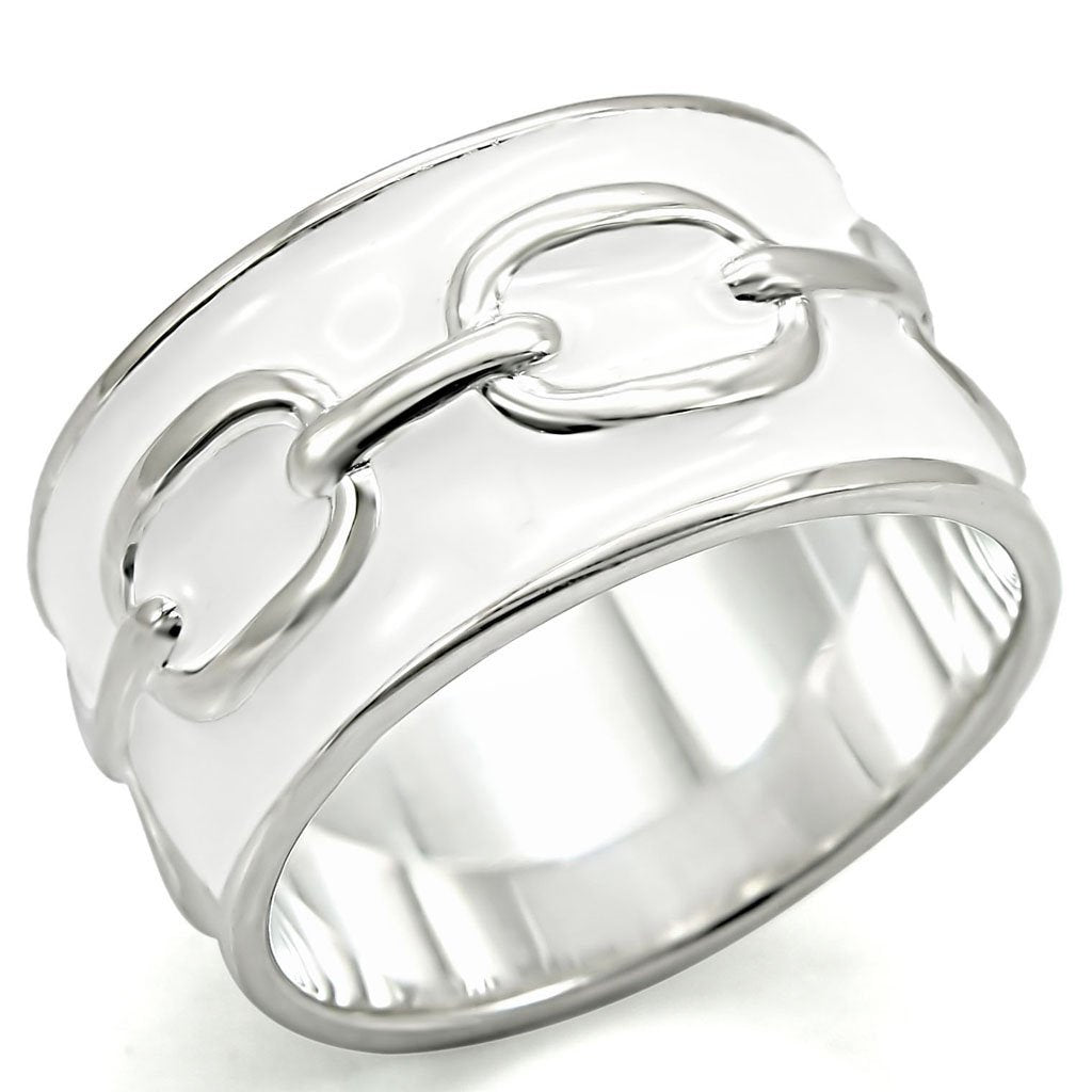 LOS377 Silver 925 Sterling Silver Ring with No Stone in No Stone