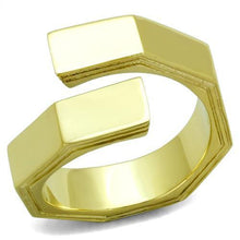 Load image into Gallery viewer, TK1629 IP Gold(Ion Plating) Stainless Steel Ring with No Stone in No Stone