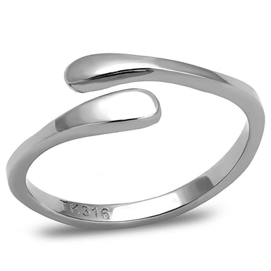 TK3261 - High polished (no plating) Stainless Steel Ring with No Stone