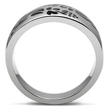 Load image into Gallery viewer, TK382 High polished (no plating) Stainless Steel Ring with No Stone in No Stone