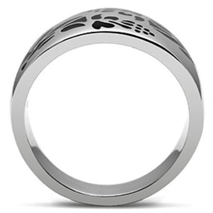 TK382 High polished (no plating) Stainless Steel Ring with No Stone in No Stone