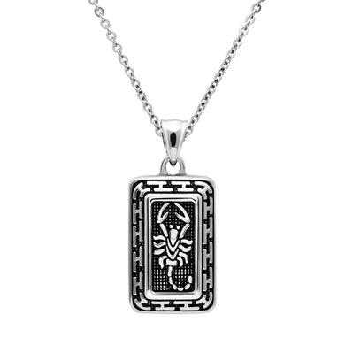 TK546 High polished (no plating) Stainless Steel Chain Pendant with No Stone in No Stone