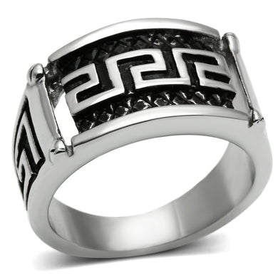 TK584 High polished (no plating) Stainless Steel Ring with No Stone in No Stone