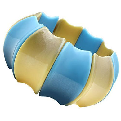 VL040 N/A Resin Bracelet with Synthetic in Multi Color