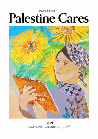 2021 Calendar: Palestine Cares - traditional herbal medicines of Palestine