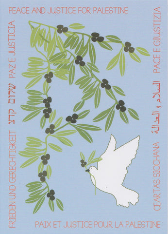 Sky Blue Dove and Olive Cards