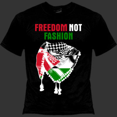 Freedom not Fashion t-shirt (Gildan soft style ringspun)