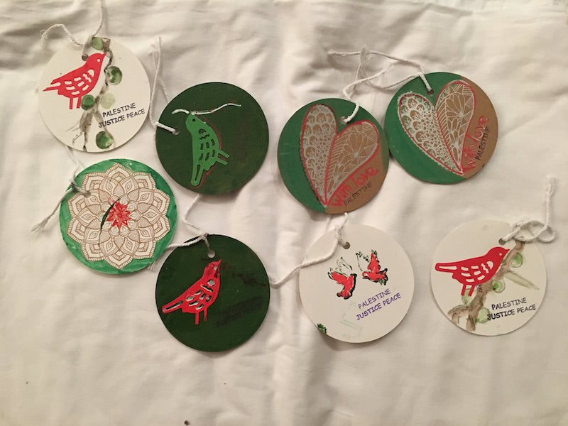 Palestine-themed Gift tags (x8)