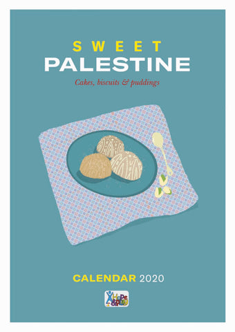 Remaindered! 2020 Calendar - Sweets from Palestine