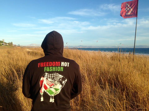 Freedom not Fashion Hoodie