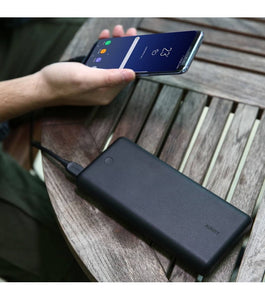 Aukey 26800 mAh Powerbank Sort