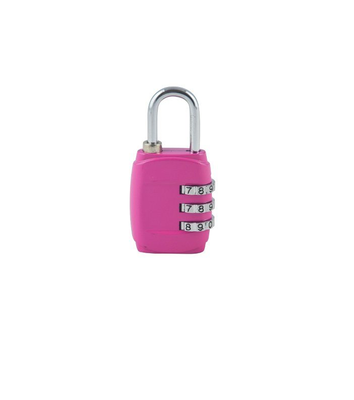 Image of   Basic Kuffertlås med kode - Pink