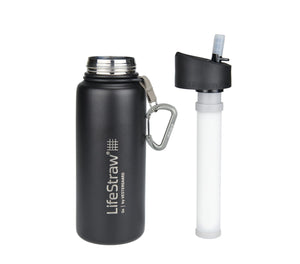 Lifestraw Go Stainless Steel 0,70 L Drikkedunk Sort