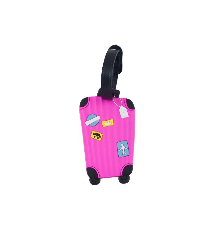 Image of   Suitcase Kuffertmærke - Pink