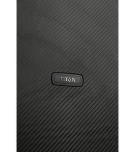 Titan Compax Sort Kuffert