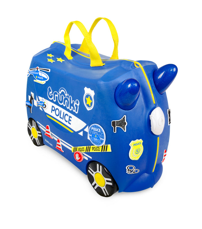 Image of   Trunki Børnekuffert Percy the Policecar