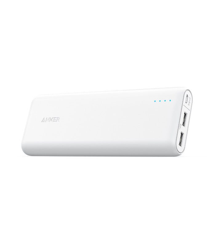 Image of   Anker Powercore 20100 mAh Powerbank Hvid