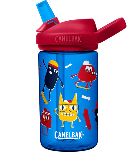 CamelBak Eddy+ Kids 0,40 L Drikkedunk Skate Monsters