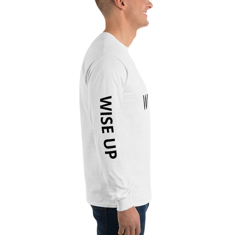 WISE UP Men's Alternate Long Sleeve T-Shirt-THE WISE VISIONS