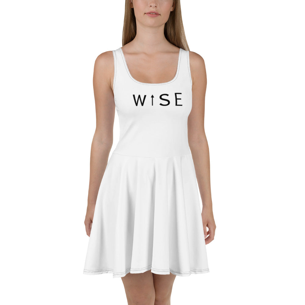 WISE UP Women's Flare Dress-THE WISE VISIONS