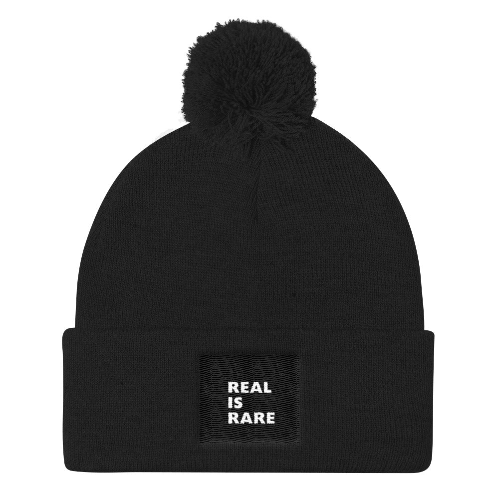 Real Is Rare Knit Cap-THE WISE VISIONS