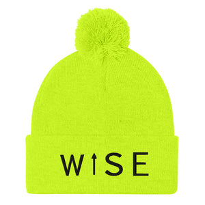 WISE UP Pom-Pom Beanie-THE WISE VISIONS