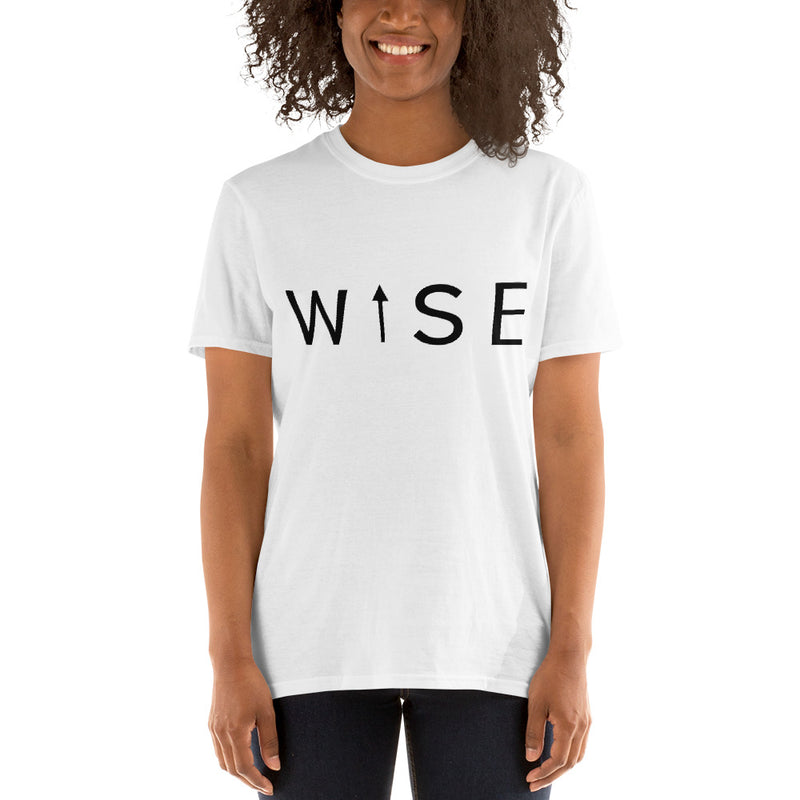 WISE UP Women's Classic Fit T-Shirt-THE WISE VISIONS