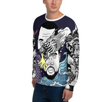 Dark Blue WI$E Culture Sweatshirt-THE WISE VISIONS